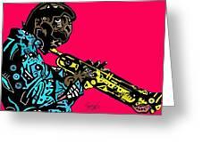 Miles Davis Full Color Greeting Card