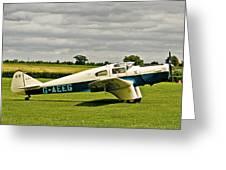 Miles M.3 Falcon Circa 1934 Greeting Card