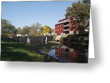 Mill Apartments Greeting Card