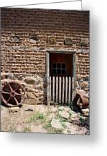 Mill Door Greeting Card