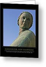 Mill Girl Greeting Card by Jim McDonald Photography
