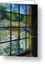 Mill With A View Greeting Card by Peter Jackson