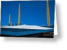 Millennium Dome Abstract Greeting Card