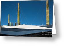 Millennium Dome London Greeting Card