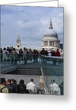 Millennium Footbridge Greeting Card