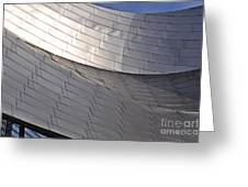 Millennium Park Amphitheater Greeting Card
