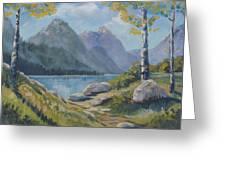 Mills Lake Greeting Card