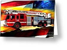 Milwaukee Truck 6 Greeting Card
