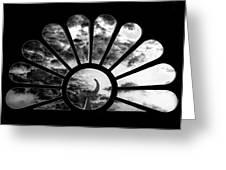 Minaret Through Glass Greeting Card