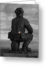 Miner Remembered Greeting Card