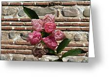 Mini Flowers Greeting Card