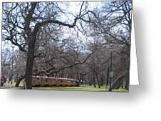 Mini Train Greeting Card