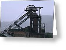 Mining History Greeting Card