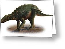 Minmi Paravertebra, A Prehistoric Era Greeting Card