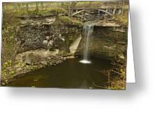 Minneopa Falls 39 Greeting Card