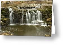 Minneopa Upper Falls 18 Greeting Card