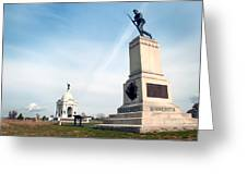 Minnesota Monument At Gettysburg Greeting Card