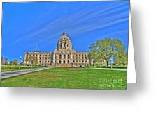 Minnesota State Capital Iv Greeting Card