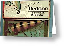 Minnow Greeting Card
