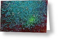 Minnow Splash Mob Greeting Card