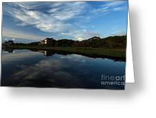 Mirror At Theshore Greeting Card