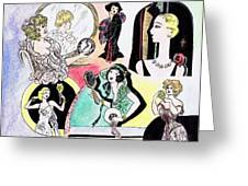 Mirror Ladies Greeting Card