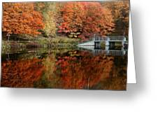 Mirror Pond Greeting Card
