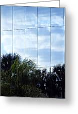 Mirrored Facade 1 Greeting Card