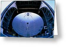 Mirrors Of The James Clerk Maxwell Telescope, Jcmt Greeting Card