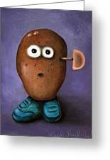 Misfit Potato Head 3 Greeting Card