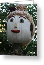 Miss Julia Scarecrow Greeting Card