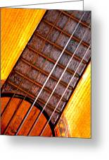 Missing String Greeting Card by Jose Lopez