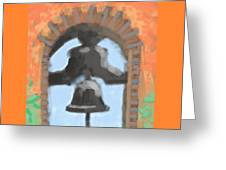 Mission Bell Greeting Card