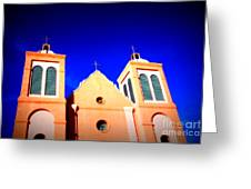 Mission Church Silver City Nm Greeting Card