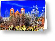 Mission In Silver City Nm Greeting Card