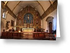 Mission San Carlos Borromeo De Carmelo  11 Greeting Card