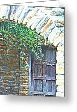 Mission San Jose San Antonio Texas Greeting Card