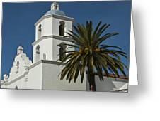 Mission San Luis Rey Iv Greeting Card