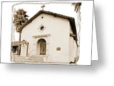 Mission San Rafael Arcangel - II Greeting Card by Ken Evans