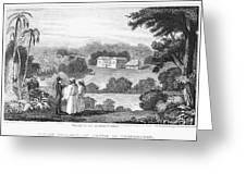 Missionary College, 1837 Greeting Card