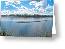 Mississippi River Panorama Greeting Card
