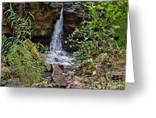 Missouri Waterfall Greeting Card