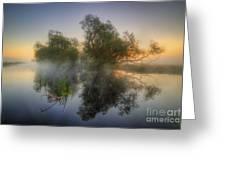 Misty Dawn 2.0 Greeting Card