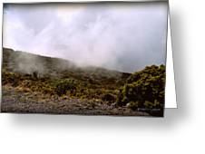 Misty Hills Greeting Card
