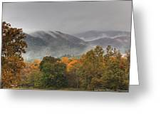 Misty Morning Iv Greeting Card by Charles Warren