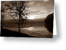 Misty Reflections S Greeting Card