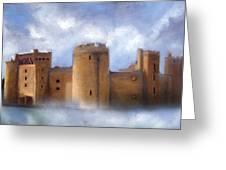 Misty Romantic Scotland Greeting Card