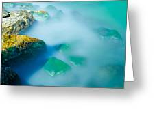 Misty Water Greeting Card