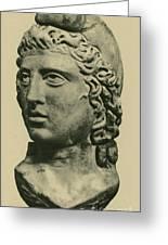Mithras, Zoroastrian Divinity Greeting Card