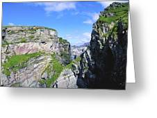 Mizen Head, Ivagha Peninsula, Co Cork Greeting Card